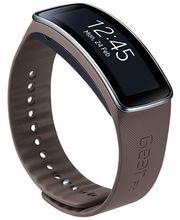 Samsung výměnný pásek ET-SR350XS pro Gear Fit - dlouhý, Mocha Gray