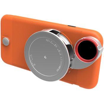 Ztylus Revolver Lite sada objektivů pro iPhone 6S Plus/6 Plus, oranžový