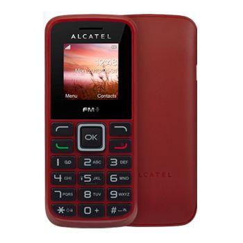 ALCATEL ONE TOUCH 1010D Dual SIM červená