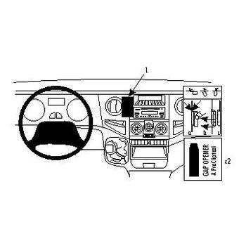 Brodit ProClip montážní konzole pro Iveco Daily 06-07