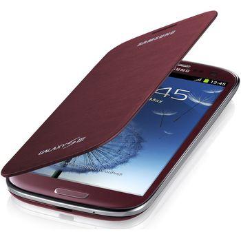 Samsung flipové pouzdro EFC-1G6FR pro Galaxy S III (i9300), Garnet Red