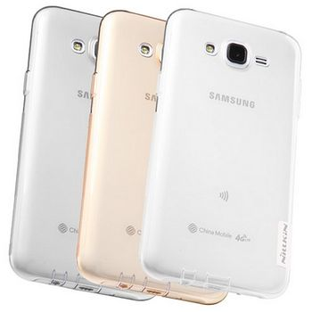 Nillkin pouzdro Nature TPU pro Samsung J500 Galaxy J5, šedé