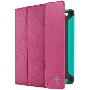 Belkin iPad 3 pouzdro Storage Folio, růžové (F8N747cwC02)
