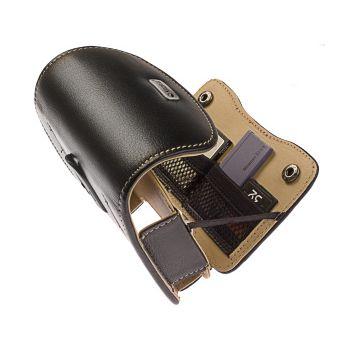 Krusell pouzdro Pictor - M - Acer N35, Garmin Nuvi 255w/660/760/765 130x20x80mm (Černá/Béžová)