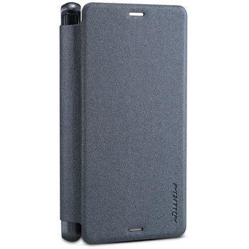 Nillkin pouzdro Sparkle Folio pro Sony E6553 Xperia Z3+, černé