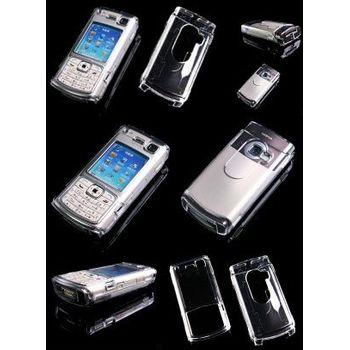 Transparentní pouzdro Brando Crystal - Nokia N70