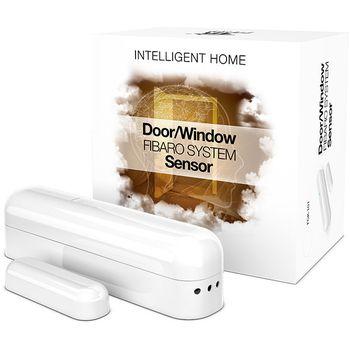 Fibaro bateriový Senzor (magnetický kontakt) na okna a dveře, bílý