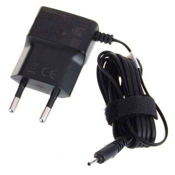 Nabíječka cestovní síťová Nokia AC-5E, konektor 2mm - Nokia 6270/ 6280/N70.., eko-balení