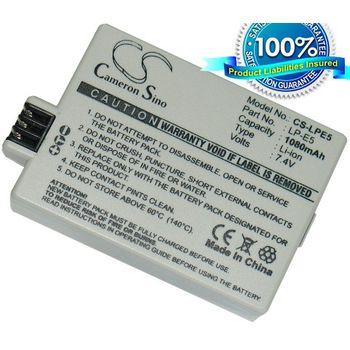 Baterie (ekv. LP-E5) pro Canon EOS 450D, 500D, 1000D, Li-ion 7,4V 1080mAh