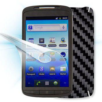 Fólie ScreenShield ZTE - Skate displej+carbon černá