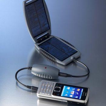 Solarmonkey + Solarnut 150mAh (šedá) - solární outdoorová záložní nabíječka s panely