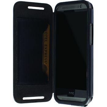 Krusell pouzdro FlipCase Kiruna - HTC One (M8), černá