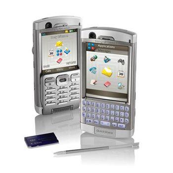 Sony Ericsson P990i - O2 Silver