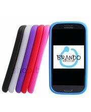 Silikonové pouzdro - Samsung Galaxy S III i9300 (černá)