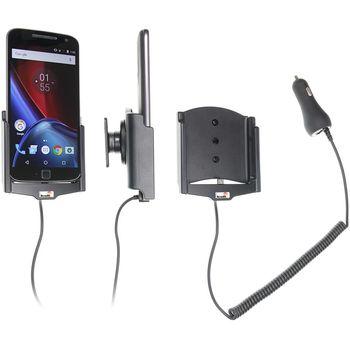 Brodit držák do auta na Motorola Moto G4 bez pouzdra, s nabíjením z cig. zapalovače