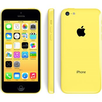 Apple iPhone 5C 16GB, žlutá