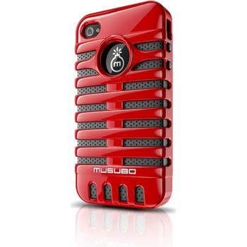 Musubo pouzdro Elvis pro Apple iPhone 4/4S - červené