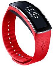 Samsung výměnný pásek ET-SR350BR pro Gear Fit - standardní velikost, červený