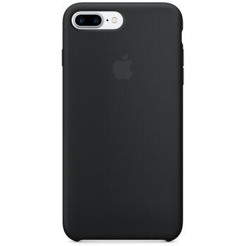 Apple silikonový kryt pro iPhone 7 Plus, černý
