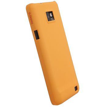 Krusell hard case - ColorCover - Samsung i9100 Galaxy S II (oranžová)