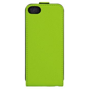 Xqisit flipové pouzdro pro iPhone 5C flip zelené