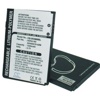 Baterie (ekv. BA-S190) pro HTC P4350 Herald, Li-ion 3,7V 1500mAh