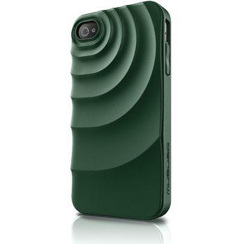Musubo pouzdro Ripple pro Apple iPhone 4/4S - tmavá zelená