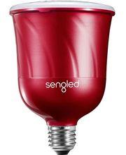 Sengled chytrá LED žárovka PULSE Satellite s reproduktorem JBL, závit E27, červená
