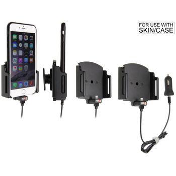 Brodit držák do auta na Apple iPhone 6/6S/7 Plus v pouzdru, nastavitelný, s nabíjením z CL/USB