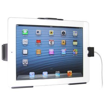 Brodit držák do auta pro Apple iPad 4th s průchodkou pro orig.kabel a Belkin adapterém do zapalovače