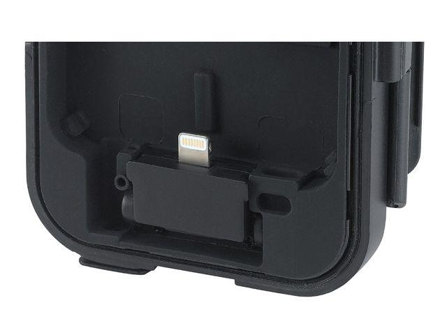 obsah balení Držák BikeConsole Powerplus se záložním akumulátorem 3000mAh + PanzerGlass sklo pro Apple iPhone 5/5S/5C