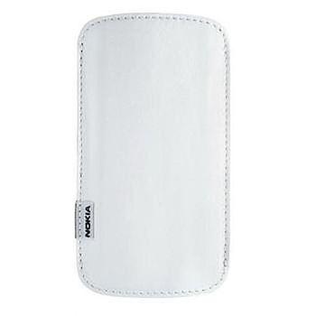Nokia CP-371 pouzdro pro Nokia E52, E55, 6720 bílé