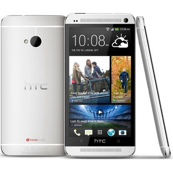 HTC One (M7) 32GB, stříbrný