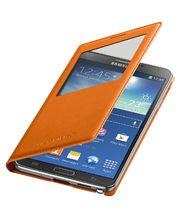 Samsung flipové pouzdro S-view EF-CN900BO pro Note 3 oranžové