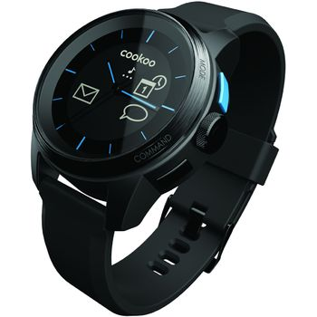 Cookoo watch - Bluetooth 4.0 hodinky pro iOS černé - rozbaleno, záruka 24 měsíců