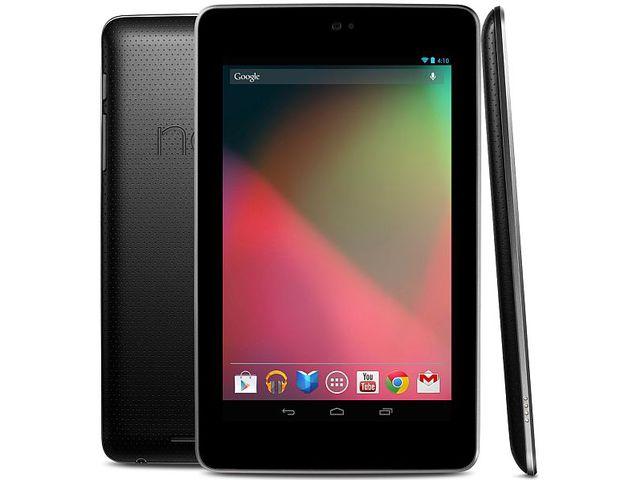 obsah balení Nexus 7