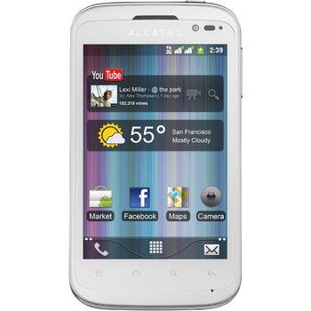 Alcatel One Touch 991D Dual-Sim bílý