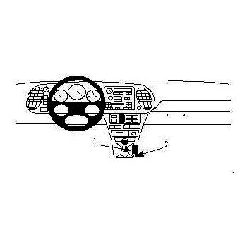 Brodit ProClip montážní konzole pro Saab 900 94-98, střed. tunel