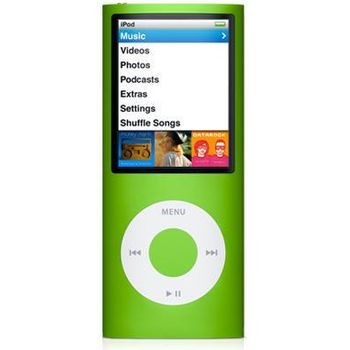 iPod Nano 4th - 16GB (zelená)