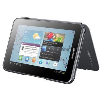 Samsung polohovací kryt EFC-1G5NGE pro Galaxy Tab 2, 7.0 (P3100/P3110), Dark Grey