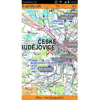 Smart Maps Aero - Letecká ICAO mapa ČR 1:200 000