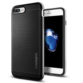 Spigen ochranný kryt Neo Hybrid pro iPhone 7 plus, stříbrná