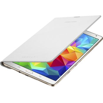 Samsung flipové pouzdro EF-DT700BW pro Galaxy Tab S 8.4, bílá