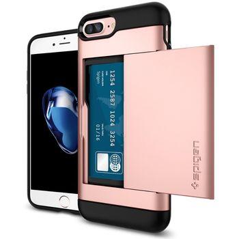 Spigen ochranný kryt Slim Armor CS pro iPhone 7 plus, růžová