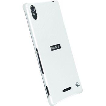 Krusell pouzdro TextureCover Malmö - Sony Xperia T3, bílá