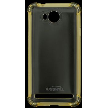 Kisswill Shock TPU pouzdro pro Huawei Y3 II, zlatá