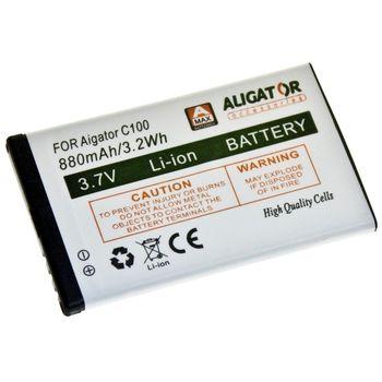Aligator baterie pro C100, 880mAh, eko-balení