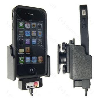 Brodit držák do auta pro Apple iPhone 3GS/3G v obalu se skrytým nabíjením v palubní desce
