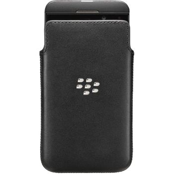 BlackBerry kožené pouzdro pro BlackBerry Z10, karbon