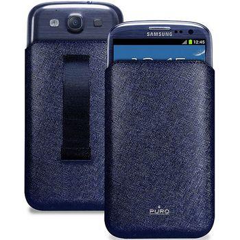PURO pouzdro Slim Essential pro Samsung Galaxy S III (i9300) - modré